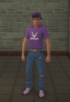 Gang Customization - 80s - male soldier - white
