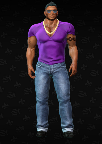 Gang Customization - Clubber 6 - Luigi - in Saints Row The Third