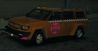 Kayak Taxi - TNA variant in Saints Row IV