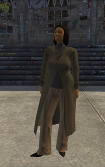 MiddleAge female 02 - hispanic - character model in Saints Row
