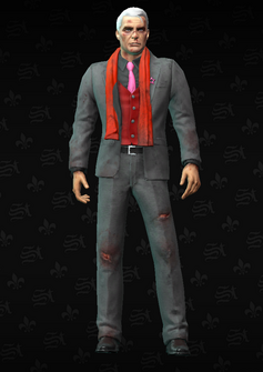 Phillipe battered - character model in Saints Row The Third