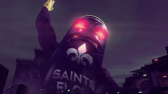 Saints Row IV Announce Teaser - giant saints flow