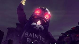 Saints Row IV Announce Teaser - giant saints flow