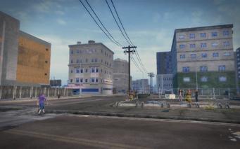 Shivington - empty corner block