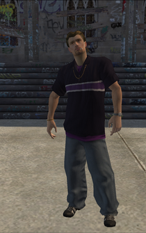 Troy - character model in Saints Row