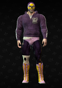 Angel dirty - character model in Saints Row The Third