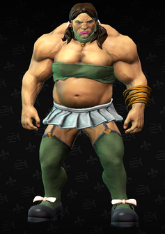 Brutella - Brutina - character model in Saints Row The Third