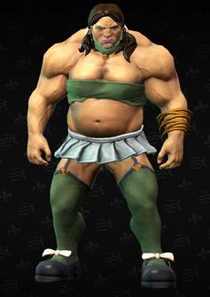 Brutella - Brutina - character model in Saints Row The Third