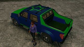 Criminal - customized with Luchadores logo in Saints Row The Third