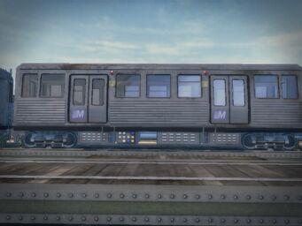 El Train - Passenger carriage left side