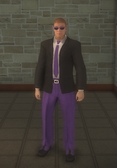 Gang Customization - Bodyguards - male lieutenant 1 - white