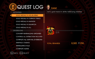 Gat out of Hell Challenge - Gold Medals in Hellblazing