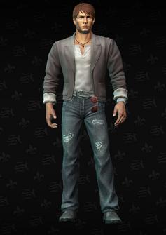 Josh Birk - character model in Saints Row The Third