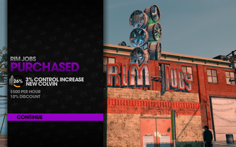 Rim Jobs in Camano Place purchased in Saints Row The Third