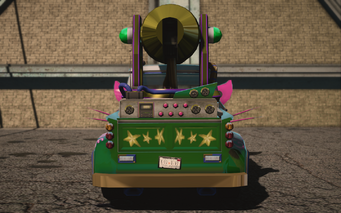 Saints Row IV variants - Genki Manapult Average - rear