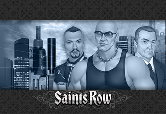 Saints Row demo wallpaper - Westside Rollerz