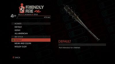 Weapon - Melee - Baseball Bat - Rat Stick - Default