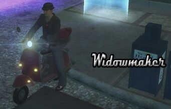Widowmaker - front left with lights and logo in Saints Row 2