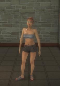 Beach female - hispanic generic - character model in Saints Row 2