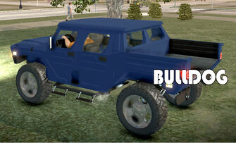 Bulldog - rear left with logo in Saints Row 2