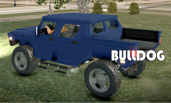 Bulldog - rear left with logo in Saints Row 2