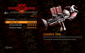 Gat out of Hell - 7 Deadly Weapons - Gluttony - Upgrades
