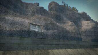 Pyramid - Side entrance