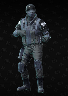 SWAT sniper - Colin - character model in Saints Row The Third