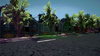 Saints Row IV - Simulated Misty Lane during Welcome Back