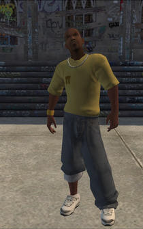 Vice Kings Placeholder - character model in Saints Row