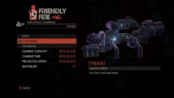 Weapon - Explosives - Alien RPG - Upgrades