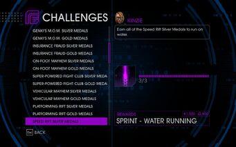 Challenge 24 Speed Rift Silver Medals