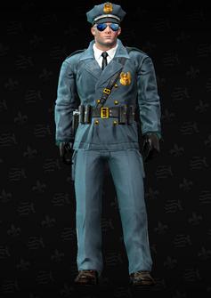 Cop - John - character model in Saints Row The Third