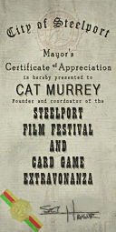 Credits - Mayor Certificate - Cat Murrey