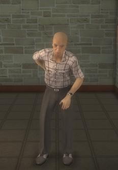 Elderly male - elderly asian male - character model in Saints Row 2