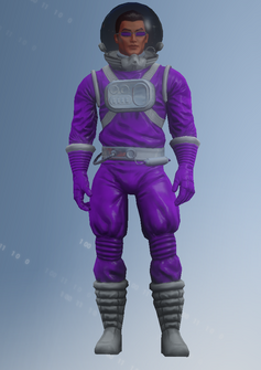 Johnny Gat - Space - character model in Saints Row IV