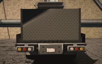 Saints Row IV variants - Flatbed Key - rear
