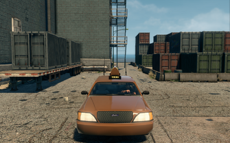 Taxi - front in Saints Row The Third