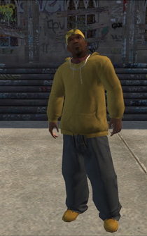 Vice Kings male THUG1-02 - Black - character model in Saints Row