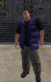Westside Rollerz male Killa2-01 - white - character model in Saints Row