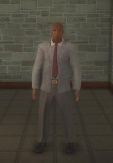 Doorman - black - character model in Saints Row 2