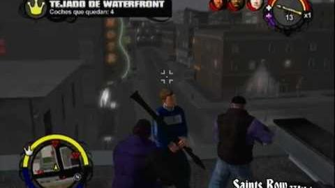 Fortaleza Tejado de Waterfront Saints Row