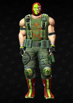 Luchador grunt 3 - Casey - character model in Saints Row The Third