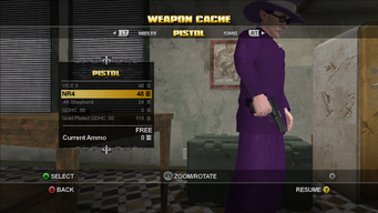 NR4 in the Weapon Cache in Saints Row