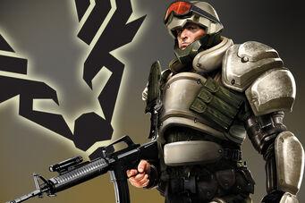 STAG soldier promo artwork