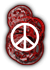 Saints Row 2 clothing logo - peace
