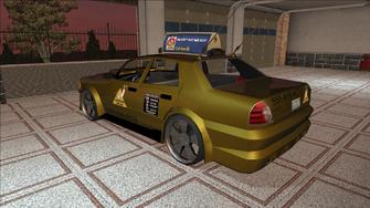 Saints Row variants - Taxi - Eagle B - rear left