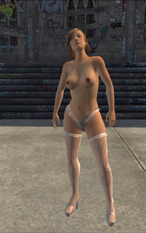 Samantha - normal - character model in Saints Row