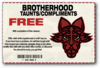 Taunts and Compliments - Brotherhood unlocked