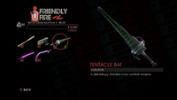 Weapon - Melee - Tentacle Bat - Main